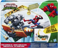 Wholesalers of Spiderman Web City Rhino Rampage Set toys image