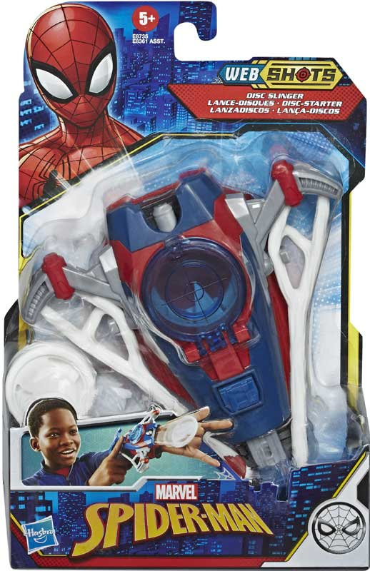 Wholesalers of Spiderman Web Shots Gear Assortment toys