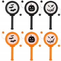 Wholesalers of Spin Drum Mini Halloween 10cm toys image