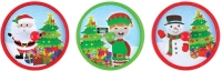 Wholesalers of Spinning Top Christmas 4cm toys image