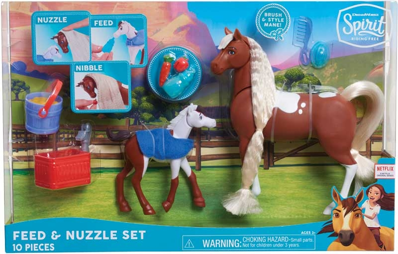 Wholesalers of Spirit - Feed And Nuzzle Mother And Foal toys