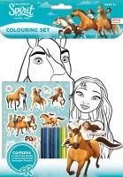 Wholesalers of Spirit  Colouring Set toys image
