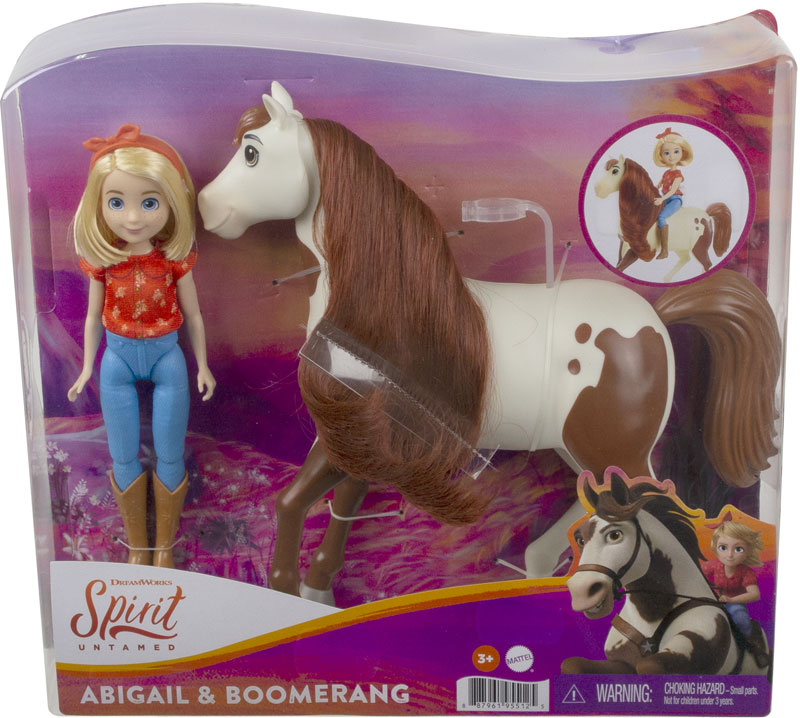 Wholesalers of Spirit Abigail & Boomerang Horse toys