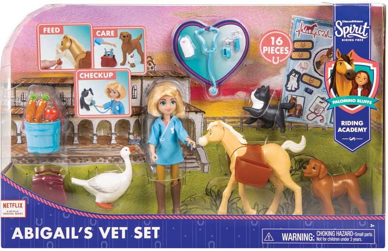 Wholesalers of Spirit Abigails Vet Set toys