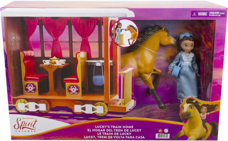 Wholesalers of Spirit Luckys Train Home toys