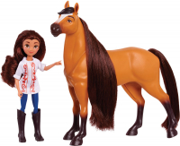 Wholesalers of Spirit Small Doll & Horse - Lucky & Spirit toys image 3