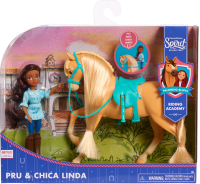 Wholesalers of Spirit Small Doll & Horse - Pru & Chica Linda toys image