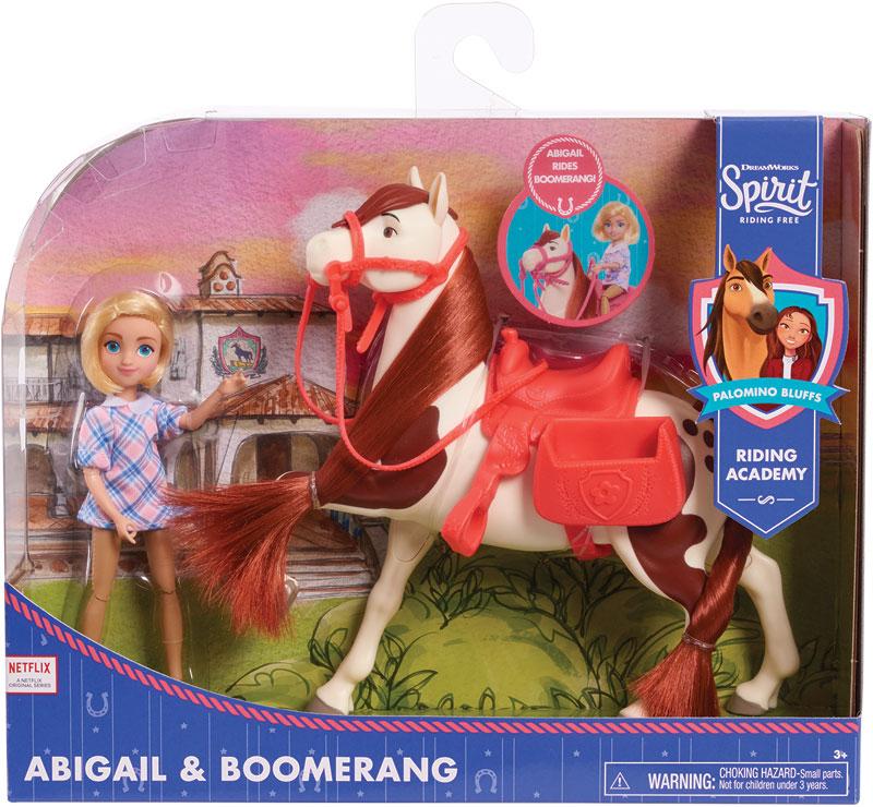 Wholesalers of Spirit Small Doll & Horse- Abigail & Boomerang toys