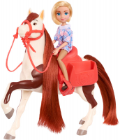 Wholesalers of Spirit Small Doll & Horse- Abigail & Boomerang toys image 2