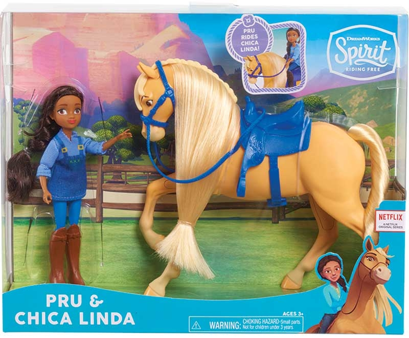 Wholesalers of Spirit Small Doll And Classic Horse Asst toys