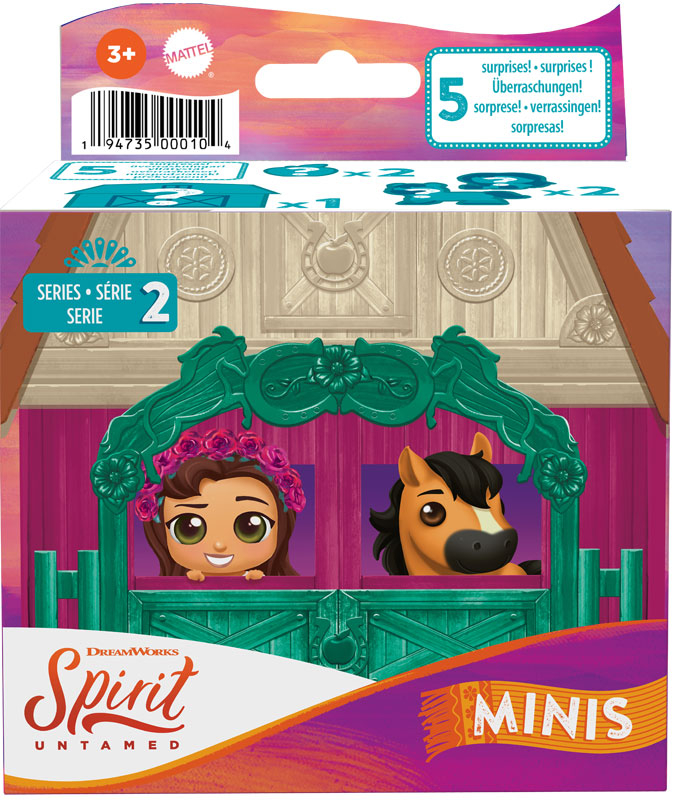 Wholesalers of Spirit Untamed Precious Ponies And Friends Asst toys
