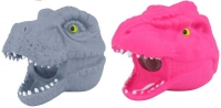Wholesalers of Squeeze Dinosaur Head With Beads 9cm toys image