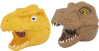 Wholesalers of Squeeze Dinosaur Head With Beads 9cm toys image 2