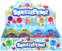 Wholesalers of Squeeze Pig With Beads 6cm toys image 2