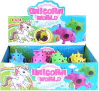 Wholesalers of Squeeze Unicorn With Beads 9cm toys image 2