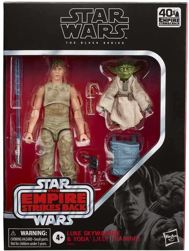 Wholesalers of Star Wars  Bl Deluxe Luke And Yoda toys