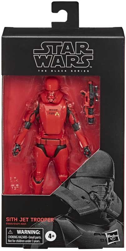 Wholesalers of Star Wars Black Series Sith Jet Trooper toys