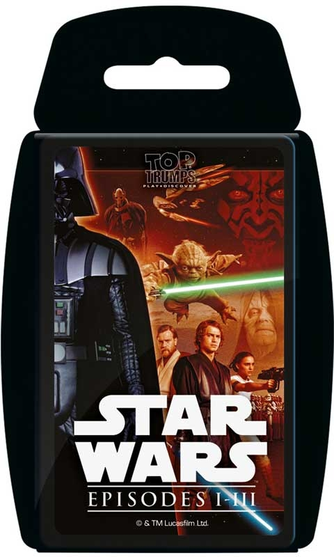 Wholesalers of Top Trumps - Star Wars 1-3 toys