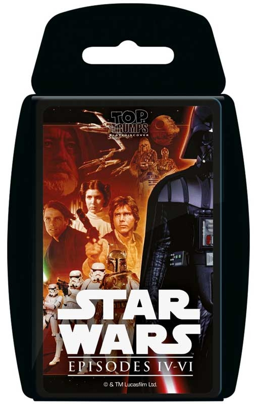 Wholesalers of Top Trumps - Star Wars 4-6 toys
