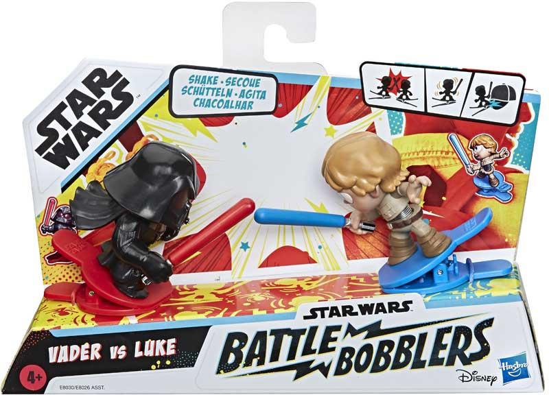 Wholesalers of Star Wars Battle Bobblers 2 Pk Asst toys