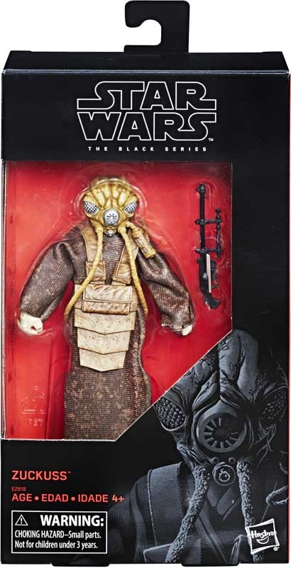 Wholesalers of Star Wars Black Series 6in Zuckuss toys