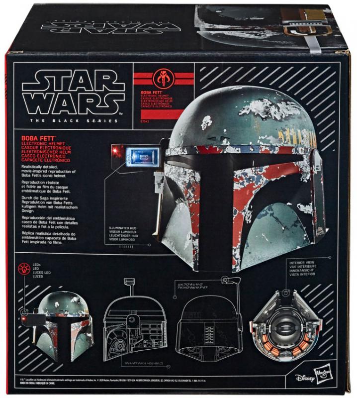 Wholesalers of Star Wars Black Series Boba Fett Premium Helmet toys
