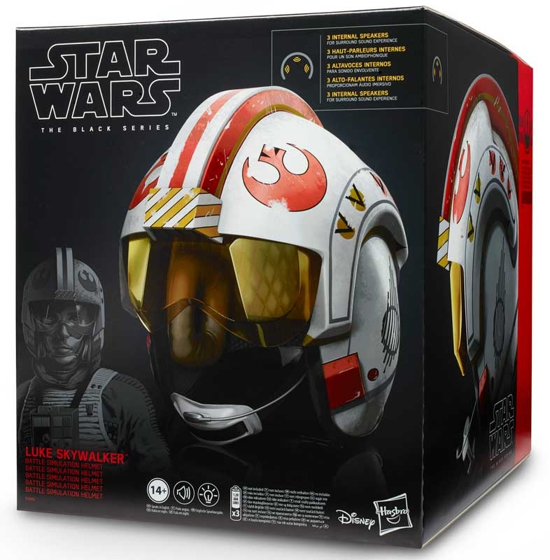 Wholesalers of Star Wars Black Series Luke Skywalker Battle Helmet toys