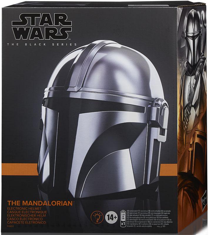 Wholesalers of Star Wars Black Series Man Mandalorian Elec Helmet toys