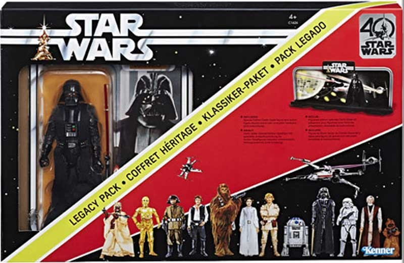 Wholesalers of Star Wars E4 40th Anniversary Legacy Pack toys