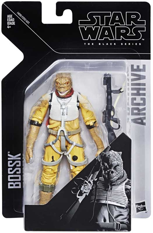 Wholesalers of Star Wars E5 Black Series Bossk toys