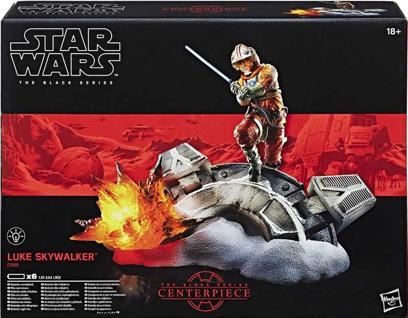 Star wars black series luke skywalker