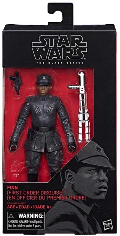 Wholesalers of Star Wars E8 Finn First Order Disguise toys