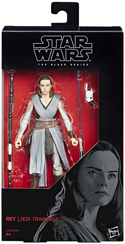 Wholesalers of Star Wars E8 Black Series Rey - Jedi Training toys