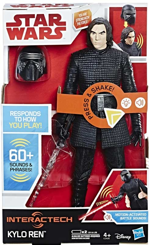 Wholesalers of Star Wars E8 Kylo Ren Interactech Figure toys