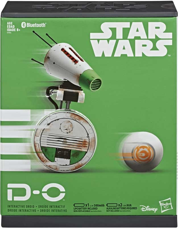 Wholesalers of Star Wars E9 D-0 Interactive Droid toys