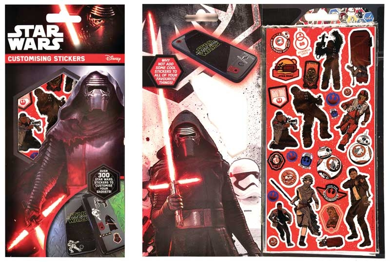 Wholesalers of Star Wars Episode 7 Customising Stickers toys