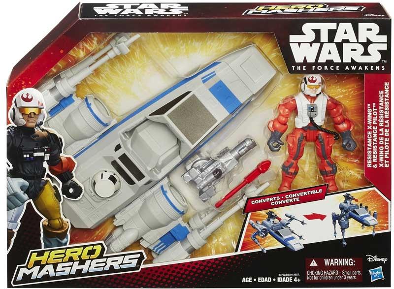Wholesalers of Star Wars Episode 7 Hero Mashers Atack Vehicle Asst toys
