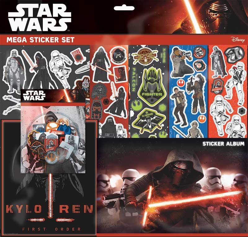 Wholesalers of Star Wars Episode 7 Mega Sticker Set toys