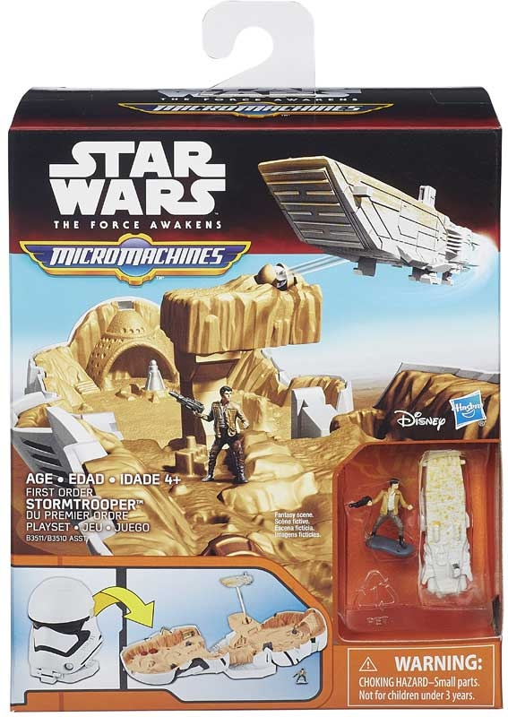 Wholesalers of Star Wars Episode 7 Micromachines Battle Set Asst toys