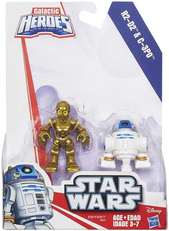 Wholesalers of Star Wars Galactic Heroes Figures 2 Pack Asst toys