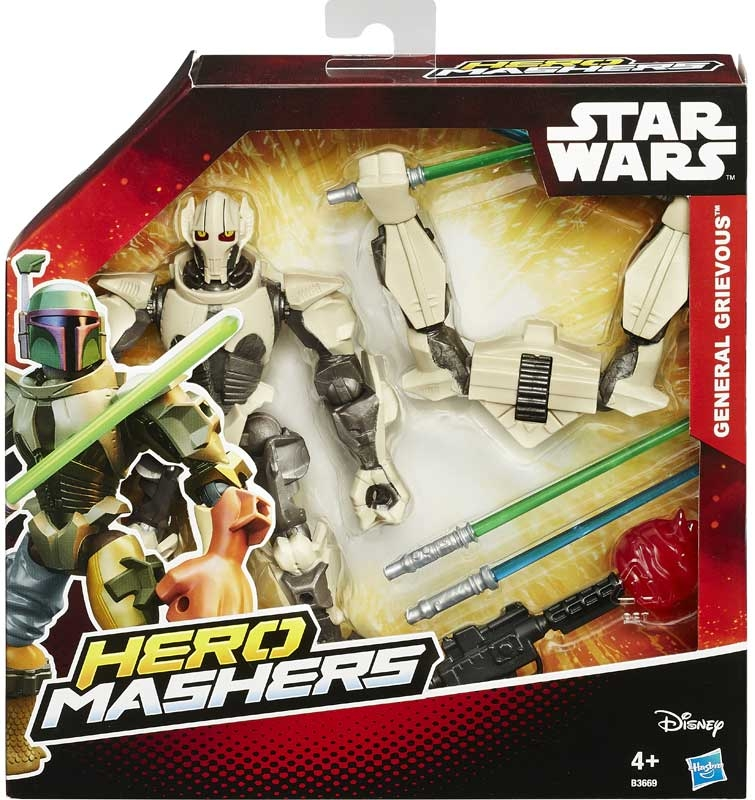 Wholesalers of Star Wars Hero Mashers Deluxe Figure Asst toys