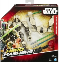 Wholesalers of Star Wars Hero Mashers Deluxe Figure Asst toys image