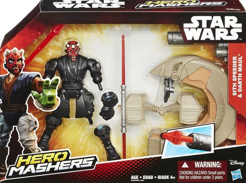 Wholesalers of Star Wars Hero Mashers Speeders Asst toys