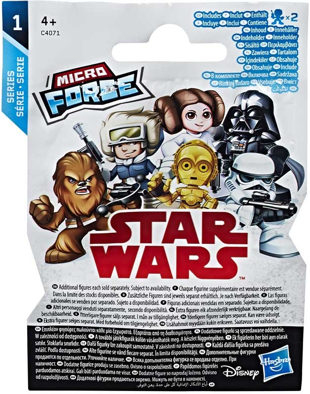 Wholesalers of Star Wars Micro Force Blind Bags toys