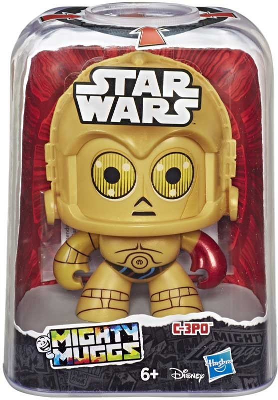 Wholesalers of Star Wars Mighty Mugs E8 C3po toys