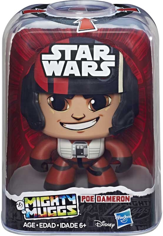 Wholesalers of Star Wars Mighty Mugs E8 Poe toys