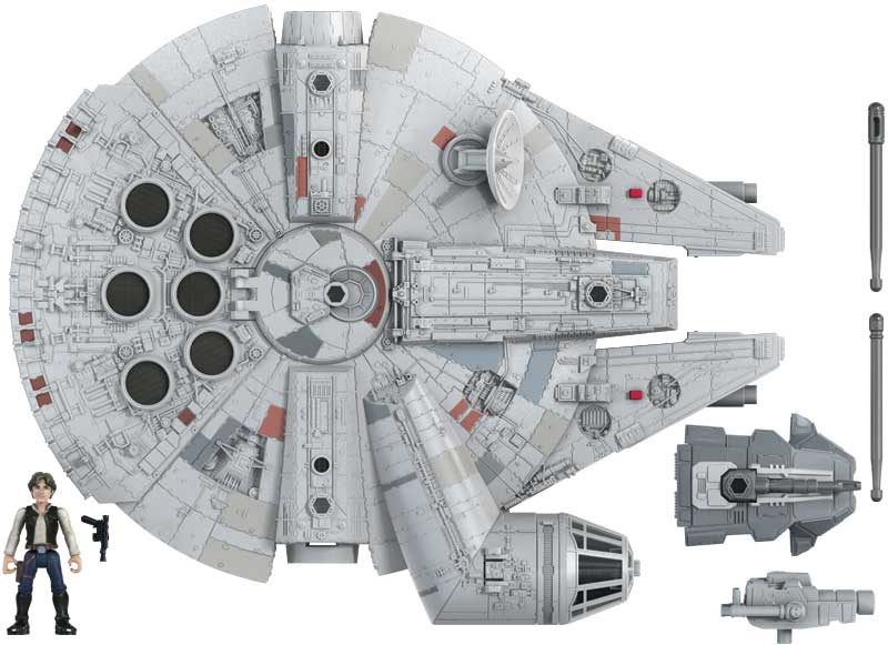 Wholesalers of Star Wars Mission Fleet Deluxe Vehicle Falcon toys