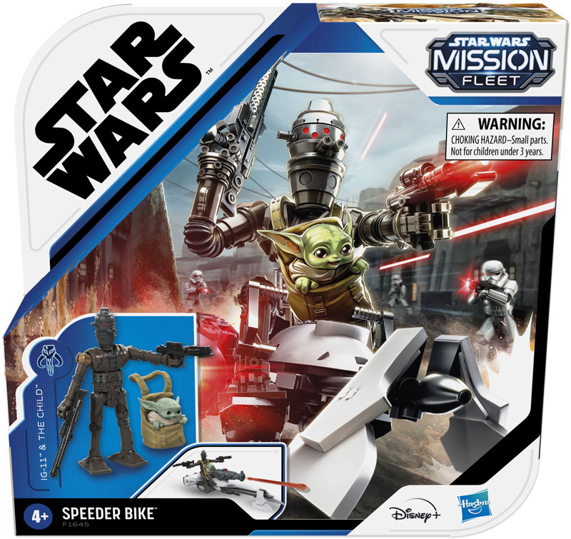 Wholesalers of Star Wars Mission Fleet Ig11 And Child toys