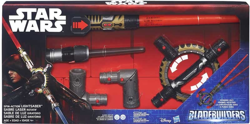 Wholesalers of Star Wars Spin Action Lightsaber toys