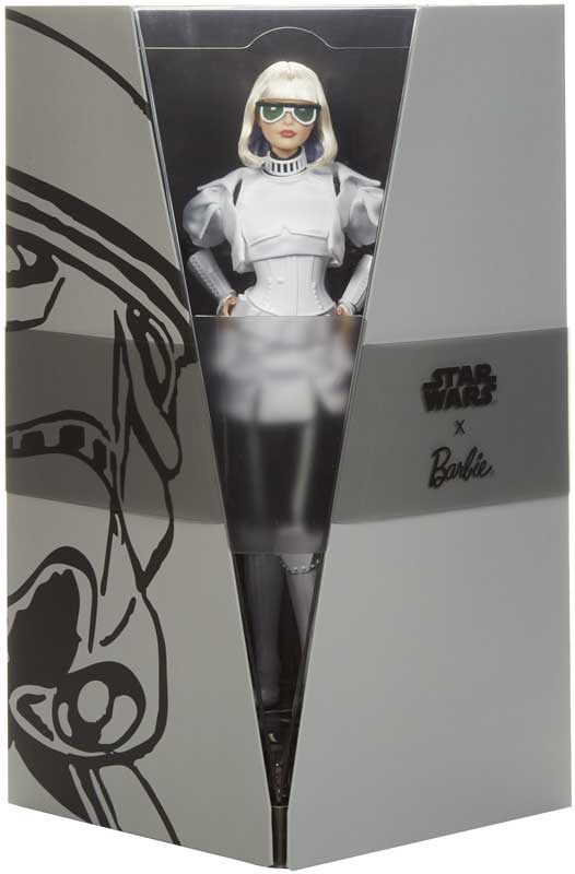 Wholesalers of Star Wars Stormtrooper X Barbie Doll toys